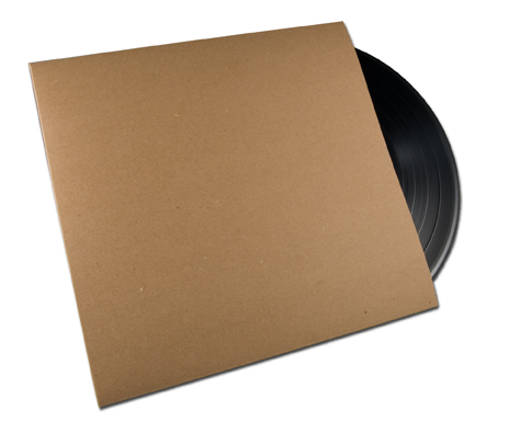 NEW PRODUCT: Blank Chipboard Jackets for 7-inch Vinyl  - Only 69¢ Each!!